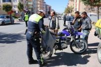 'Son Sürat' Uygulaması İle Motosikletler Denetlendi