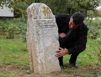 MEZAR TAŞLARı - Süs olarak konulan taş 2 bin yıllık geçmişi aydınlattı