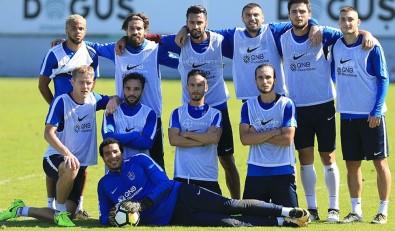 Trabzonspor'da neşeli idman