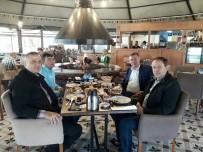 VEZIRHAN - Vezirhan Ve Geyve Belediye Başkanları Bir Araya Geldi