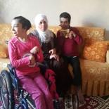 Zihinsel Engelli Kardeşler Tekerlekli Sandalyelerine Kavuştu