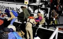 KAÇAK GÖÇMEN - 154 Kaçak Göçmen Son Anda Kurtarıldı