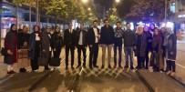 GENÇLİK KOLLARI - AK Gençler 5 Bin Vatandaşa Trafik Kurallarını Hatırlattı