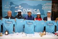 OLIMPIYAT - Başkan Karabacak, Yarı Maratonda Ter Dökecek Sporcularla Buluştu