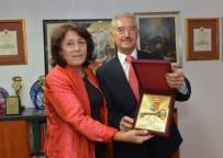 KAYALı - Başkan Kayalı'ya Gorçe Petrov Şehrinin Anahtarı Verildi
