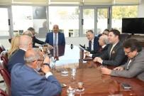 ENGELSİZ SANAT - Başkan Kocamaz Fahri Konsoloslarla Bir Araya Geldi