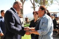 METIN ERTÜRK - Başkan Metin Ertürk, Aymelek Üyelerini Ağırladı