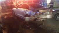 FATIH SULTAN MEHMET - Başkent'te Zincirleme Trafik Kazası Açıklaması 2 Yaralı