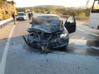 VEZIRHAN - Bilecik'te Trafik Kazası; 1 Yaralı