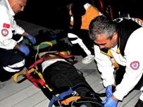 KAÇAK GÖÇMEN - Göçmenler Ölüme Yolculukta Son Anda Kurtarıldı