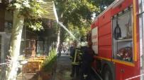 CAMİİ - İş Yerindeki Baca Yangını Korkuttu