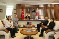 FEN EDEBİYAT FAKÜLTESİ - Japon Büyükelçisi Nakamura Rektör Prof. Dr. Bağlı'yı Ziyaret Etti