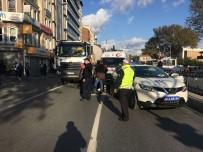 YAŞLI KADIN - Kadınına Çarpıp Kaçan Beton Mikseri Şoförü Yakalandı