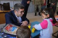 TAŞIMALI EĞİTİM - Kaymakam Çetin, Okulları Ziyaret Etti