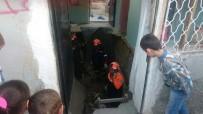 Konya'da Evde Göçük Açıklaması 3 Yaralı