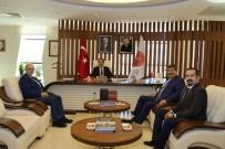 KARATAY ÜNİVERSİTESİ - KTO Karatay Üniversitesi Rektörü Sade'den Rektör Bağlı'ya Ziyaret