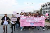 KADİR YILDIRIM - Meme Kanserine Karşı Farkındalık Yürüyüşü Açıklaması 'Hayat Meme Kanserine Yenilmesin'