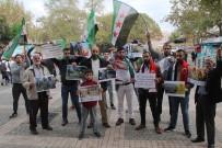 Suriyelilerden İdlib Operasyonuna Destek