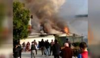RUMELI HISARı - Tarihi Rumeli Hisarı İskelesi'nde Yangın Sürüyor