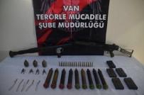 Van'da Çok Sayıda Silah Ve Mühimmat Ele Geçirildi