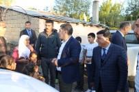 KIZ ÇOCUĞU - Varto Kaymakamı Mehmet Nuri Çetin İhtiyaç Sahiplerini Evlerini İnceledi