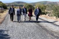 YOL ÇALIŞMASI - Yollar Büyükşehirle Kısalıyor