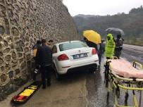 Zonguldak'ta Trafik Kazası Açıklaması 1 Yaralı