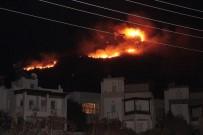 ORMAN İŞÇİSİ - Bodrum'da alevler yerleşim yerlerine yaklaştı