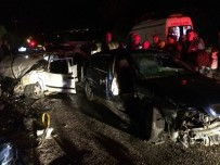 KıRıM - Denizli'de otomobiller çarpıştı: 7 yaralı