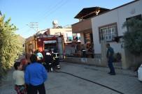 GÜVENLİK ÖNLEMİ - Kozan'da Ev Yangını