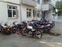 ŞANLIURFA - Polis Uygulamasında 32 Motosiklet Çalıntı Çıktı