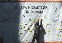 GENÇLİK KOLLARI - Saadet Partisi Ulaşıma Gelen Zamlar İçin Fikir Duvarı Standı Açtı