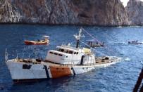 SAHİL GÜVENLİK - Sahil Güvenlik Gemisi Dalış Turizmi İçin Batırıldı