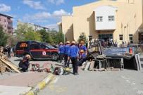 MEDİKAL KURTARMA - Ağrı'da Deprem Ve Yaygın Tatbikatı