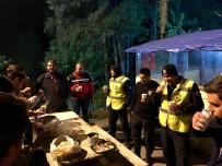 İBRAHIM YıLMAZ - AK Gençler'den Polis Ağabeylerine Ziyaret