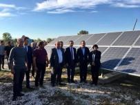 GENEL SEKRETER - Balabanköy'e 523 TL'ye Kurulan Güneş Enerji Santrali Açıldı
