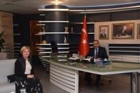 SİVİL TOPLUM - Baro Başkanı Azade Ay'dan Başkana Hayırlı Olsun Ziyareti
