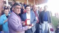 ERZİNCAN VALİSİ - Başkan Dülger'den Vali Aslantaş'a Teşekkür Plaketi