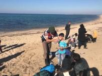 KAÇAK GÖÇMEN - Çanakkale'de 51 Kaçak Göçmen Yakalandı