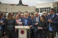YÜKSEK ATEŞ - Cumhurbaşkanlığı Başdanışmanı Yalçın Topçu, Baykal'ı, Tedavi Gördüğü Hastanede Ziyaret Etti