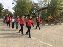 DAK'dan Öğrencilerle 5 Kilometrelik Yürüyüş
