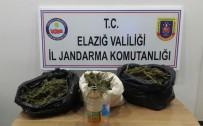 Elazığ'da 26,5 Kilogram Esrara Ele Geçirildi