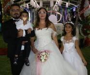KıNA GECESI - Evlendikten 10 Yıl Sonra Düğün Yaptılar