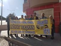 TEZAHÜRAT - Futbol Taraftarınında 'Geçmiş Olsun' Ziyareti Böyle Olur