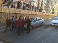 FUZULİ - Görünmez Kazada Sürücü Ölümden Döndü