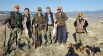 TAVŞAN AVI - Hisarcık'ta Tavşan Avı Sezonu Açıldı