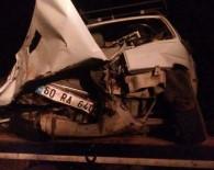 İspir'de Trafik Kazası Açıklaması 1 Ölü, 2 Yaralı