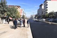 KANALİZASYON - İstasyon Caddesi'nde Geçici Asfalt Çalışması