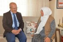 ŞEHİT POLİS - Kafaoğlu Şehit Ailelerine Ziyaret Etti