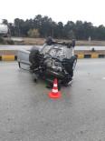 Kastamonu'da Kayganlaşan Zeminde Otomobil Takla Attı Açıklaması 2 Yaralı
